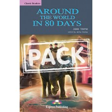 Around the World in 80 Days - Reader (+ Audio CD)  A2