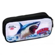 Κασετίνα 2 φερμουάρ, NO FEAR Ocean Shark (347-63141)