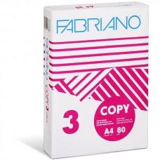 Fabriano Copy 3  A4  80γρ. - 500 φύλλα - Χαρτί Εκτύπωσης