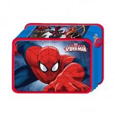 Κασετίνα Διπλή  Γεμάτη Spiderman Creative